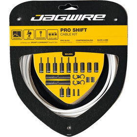 Jagwire 2X Pro Shift Schakelkabel Set, white